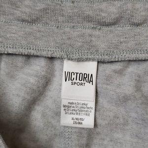 Victoria's Secret Shorts - NWOT Victoria's Secret Logo Fleece Short